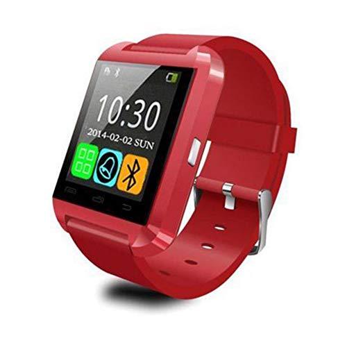 LUCKYGBY Reloj Inteligente con Monitor de Frecuencia Cardíaca, Reloj de Pulsera con Podómetro Resistente al Agua con Pantalla a Color, Reloj con Rastreador de Ejercicios con Bluetooth
