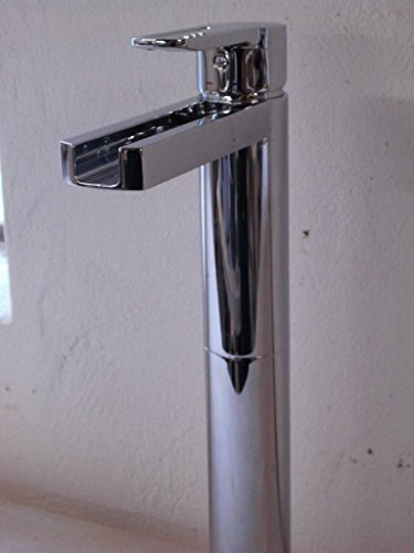 Nobili Einhebel Waschtischmischer mit Schwallauslauf für aufgesetzte Waschbecken