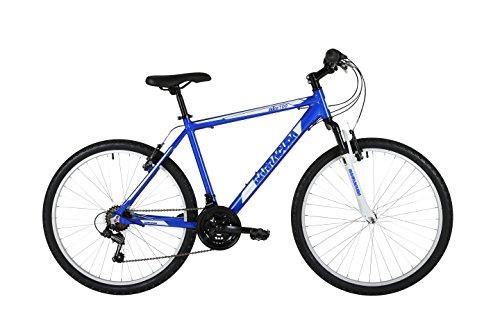 Barracuda Men's Draco 100 Bike, Blue/White, 21 Inch