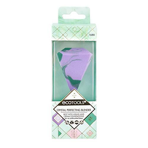 Ecotools Crystal Perfecting Makeup Sponge Blender, esponja de beleza ideal para base líquida