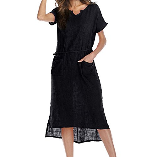 Best Review Of ✩HebeTop Women Long Sleeve Loose Knit Maxi Dresses Casual Long Dresses with Pocket ...