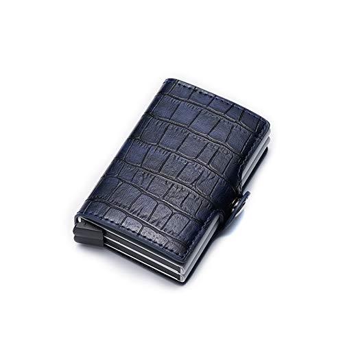 LEIHALAHerren-Portemonnaie für Männer, dünn, Vintage, kurz, klein, schmal, für Herren