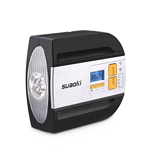 Suaoki Compressore Aria Portatile 100PSI 12V Auto,...