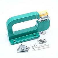 フェリモア レザースプリッター スプリッティングマシン 革漉き機 レザークラフト 刃 ツール 工具 (グリーン)