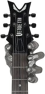 Grip Studios GG 101 MM-R - Colgador de pared con forma de mano para guitarra, color plateado