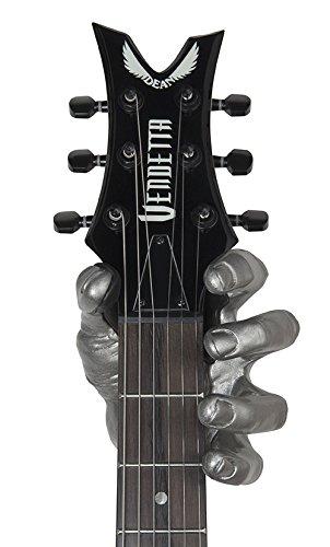 Wandhalter für Gitarre Bass Guitar Grip Copper Antique Male Hand left