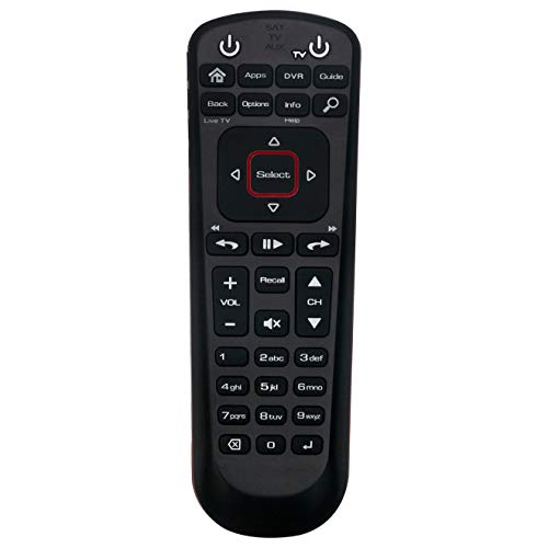 New Replaced Universal Network 52.0 Remote Control Supports for Dish 52.0 Satellite Receiver with SAT TV AUX Mode