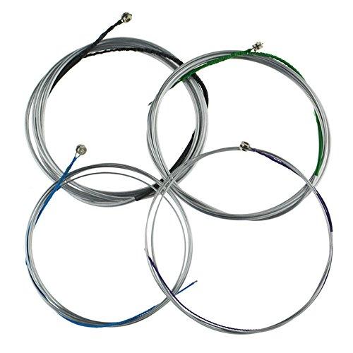 Cello-Saite mit Stahlkern aus Aluminium, Magnesium, 4 Größen, weicher Klang mit dicken Durchmessern für Cello