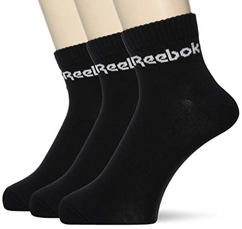 Reebok Act Core Ankle Sock 3P Calcetines, Unisex Adulto,