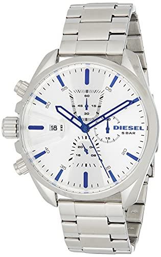 Diesel Reloj Cronógrafo para Hombre de Cuarzo con Correa en Acero Inoxidable DZ4473