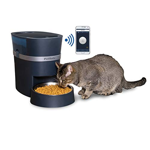 PetSafe Smart Feed 2nd Generation Automatic Dog and Cat Feeder, Smartphone, 24-Cups, Wi-Fi Enabled App for iPhone and Android, Works with Alexa (Nexus Whelpling Best Breed)