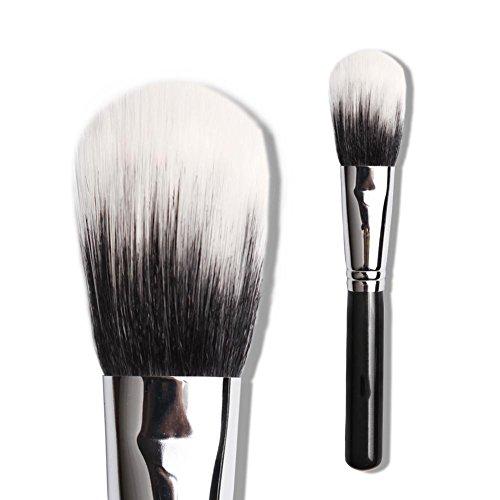 Brosse à maquillage, fibre fine mélangée à la laine