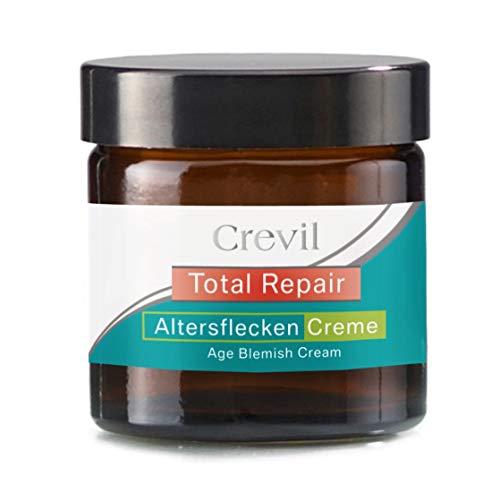 Altersflecken Creme zum Pigmentflecken entfernen, sanft und zuverlässig von Crevil, 50ml