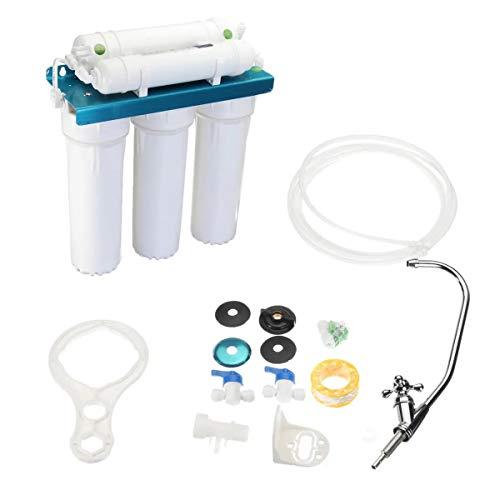 MUCHENG ZI purificador de agua de osmosis inversa sistema de filtro de agua potable ultra seguro 5 etapas herramientas eléctricas