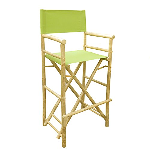 Zero Emission Worldzero Emission World Bamboo Barstool Natural Color Green Canvas Bar Height Folding Chairs Counter Stool Outdoor Indoor Tall Camping Set Of 2 22 8x18 9x47 2 Dailymail