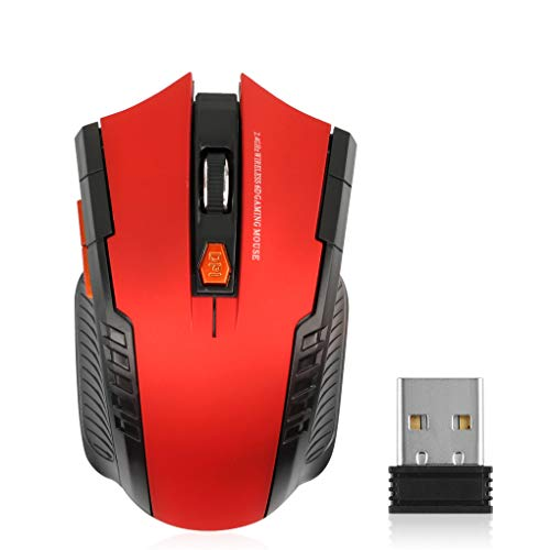 teng hong hui 2.4Ghz Wireless Mouse 1600 dpi Home Office Juego de Ordenador Ratones para Juegos ratón inalámbrico óptico del Juego inalámbrico Ratones