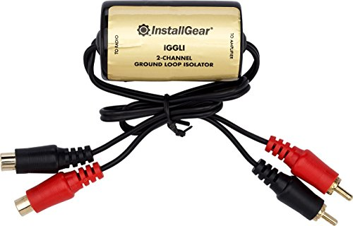 InstallGear Ground Loop Isolator Amp Noise Filter