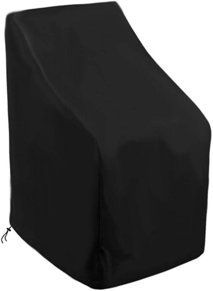 Beikalone Funda para silla de jardín, 65 x 65 x 120 cm, fundas protectoras de poliéster Oxford de alta calidad