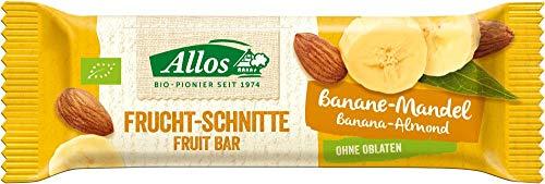 Allos Bio Fruchtschnitte Banane Mandel (6 x 30 gr)