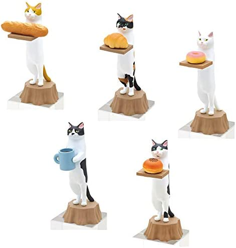 Kitan Club Cat Bakery Plastic Toy Blind Box Includes 1 of 5 Collectable Figurines Fun Versatile product image