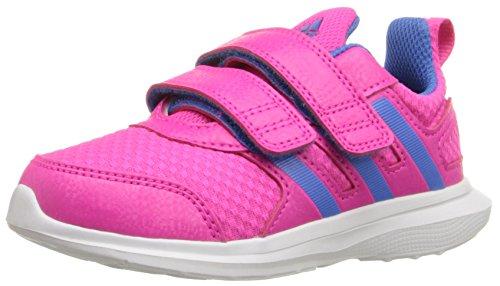 adidas Baby Boys Hyperfast 2.0 cf i Sneaker, Shock Blue/White/Unity Orange, 7.5 Infant