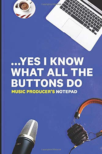 Music Producer's Notepad: Ultimate Notebook & Journal for Beat Makers and Music Creatives