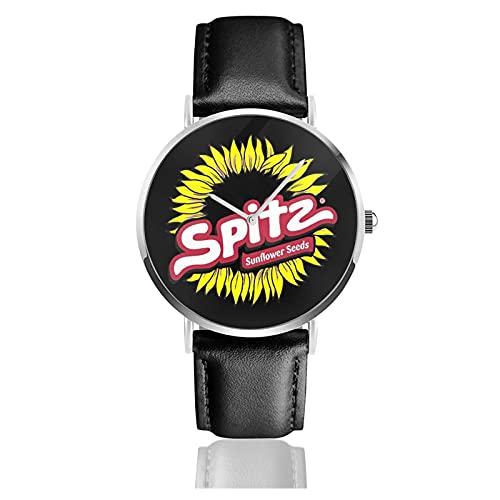 ベルトウォッチ レザーウォッチ クロノグラフウォッチ ウォッチ うで時計 スピッツ Spitz ロゴ クォーツ時計 無字盤 腕時計 カップル Puレザー クォーツムーブメント プリントウォッチ ファッション クラシック 耐久性 個性