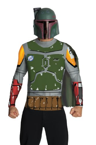 Star Wars Adult Boba Fett Costume Kit, Multicolor, X-Large