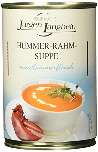 Jürgen Langbein Hummer-Rahm-Suppe, 6er Pack (6 x 400 ml)