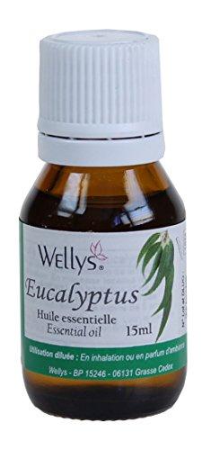 Huile d'eucalyptus 15 ml dissout zähen muqueuses en aide les bronchien et aussi contre la toux et rhume