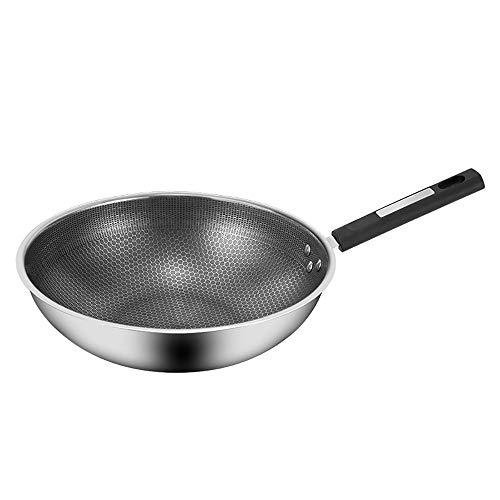 Olla de Hierro Hecha a Mano Pantalla completa de acero inoxidable PAN...