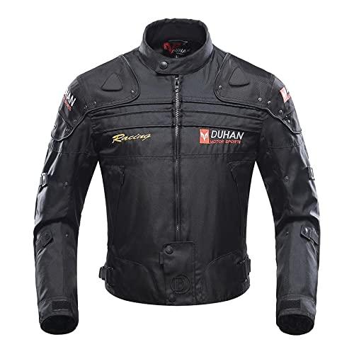 Chaqueta protectora cálida para motocicleta, 600D Oxford, ropa para hombre (XL)