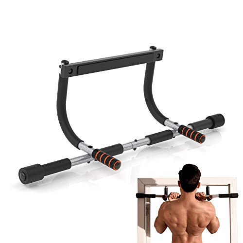 YIOFOO Pull Up Bar for Doorway, Chin Up Bar Upper Body Workout Bar for Home Door Gym