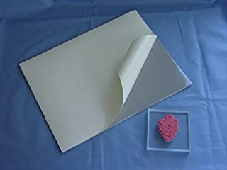 Static Cling Mounting Foam 2 Sheets 8.5x11 Inches