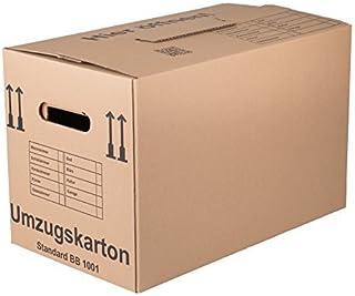 10 Umzugskartons Standard   Qualität: 1 Wellig, Umzug Karton Kisten  Verpackung