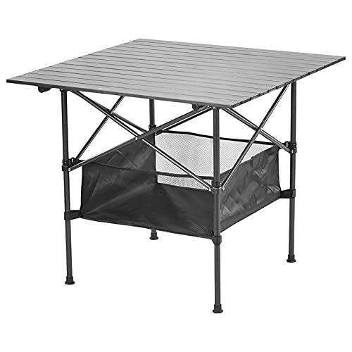 Mesas Plegables Mesa de Picnic Plegable portátil y Ligera para Acampar para Barbacoa al Aire Libre, Senderismo, Campamento, Playa, Mesa de Viaje, fácil de Llevar