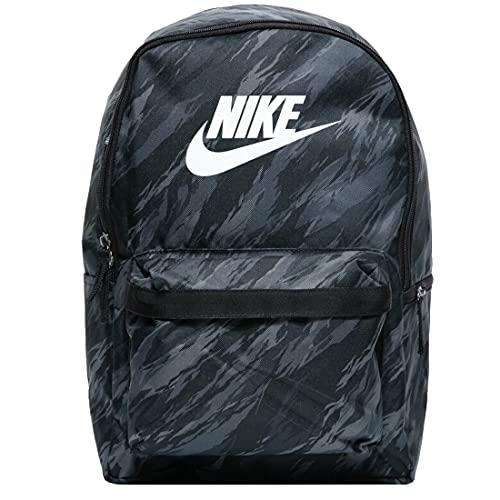 Nike DA7752 NK HERITAGE BKPK- FA21 AOP Zaino sportivo Unisex - adulto black/black/white 1SIZE