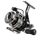 Carretes de Pesca ZWRY 5.0: 1 5.8: 1 Carrete de Pesca 1000-6000 MAX Drag 28lb Carrete Giratorio para Pesca Sistema de Doble rodamiento