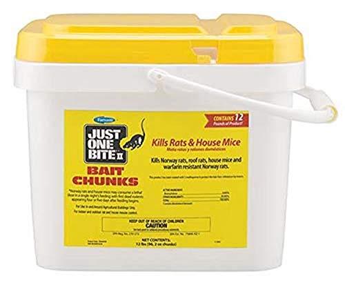 Farnam Just One Bite II Bait Chunks, 12 lbs (96, 2 oz chunks)