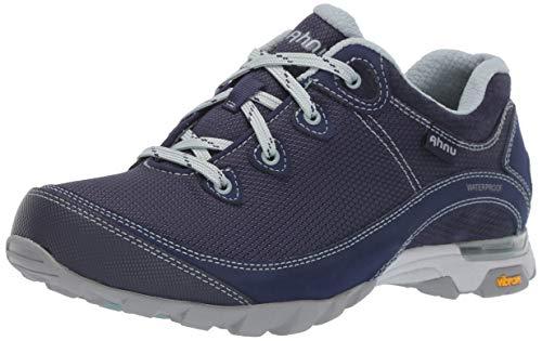 Ahnu Women's W Sugarpine II Waterproof Ripstop Hiking Shoe, Eclipse, 5 Medium US
