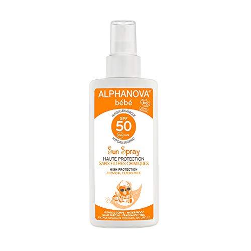 Alphanova Protector Solar Bebé 50