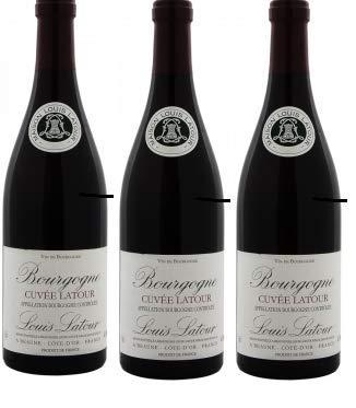 Vino Bourgogne Cuvée Latoure tinto (pack 3 botellas) (2018)