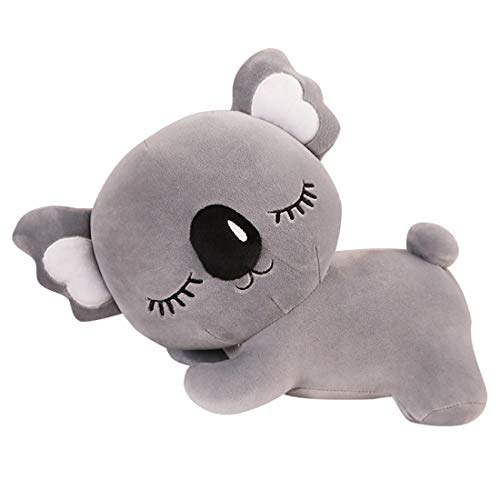 MaNMaNing Peluche Koalas Bear Plush Toy Soft Koalas Animal de Peluche Almohada Regalo de Cumpleaños (-Gris)