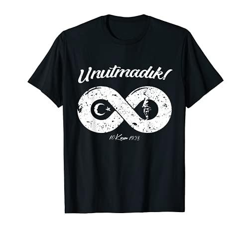 Mustafa Kemal Atatürk Unutmadik Infinity Türkei Tshirt T-Shirt