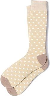 Men's Hipster Designer Power Polka Dot Design Luxury Crew Dress Socks