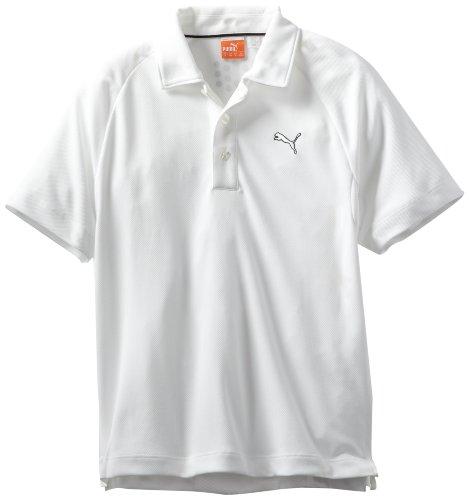Puma Polo para mujer de Golf Solid Tech - 562802, S, Blanco