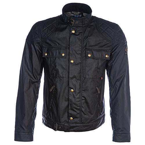 Belstaff Brookstone Waxed Jacket in Black