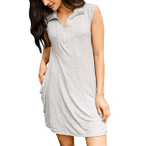 J. VALDI Luxe Jersey Dress Cover up - Heather Grey