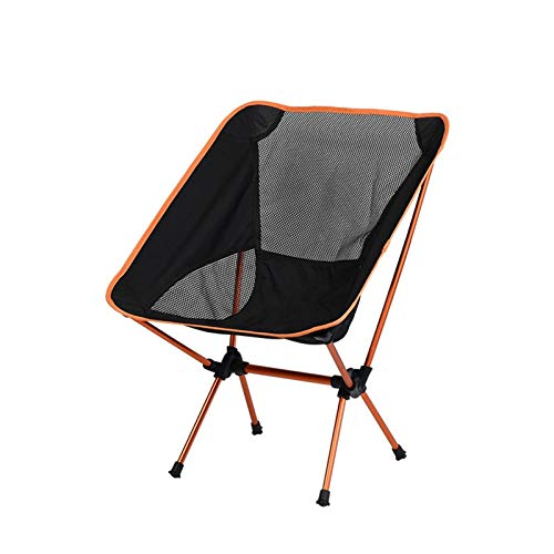 RHNTGD Camping Chairs Outdoor Folding Chair Portable Backrest Fishing Chair Stool Outdoor Garden Light Beach Leisure Moon Lounge Chair