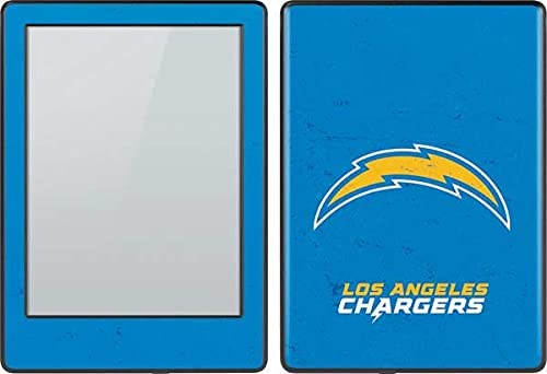 Skinit Decal Tablet Skin Compatible with Kindle E-Reader 6in - Officially Licensed NFL Los Angeles Chargers - Alternate Distressed Design